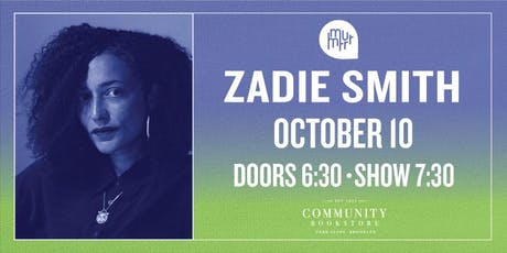 Zadie Smith tickets