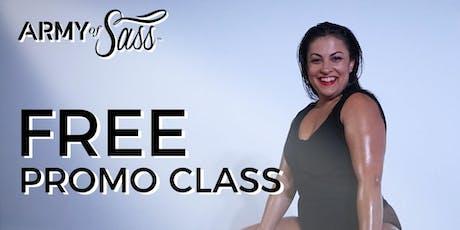 Free Promo Sass Class tickets