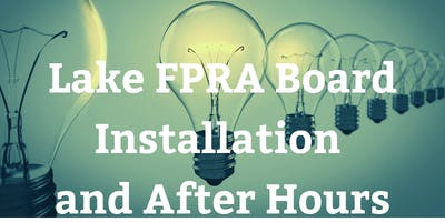 Lake FPRA 2019-20 Board Installation