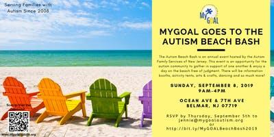 MyGOAL goes to the Autism Beach Bash