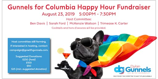 Gunnels for Columbia Happy Hour Fundraiser