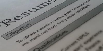 Writing Effective Resumes & Cover Letters - September 19