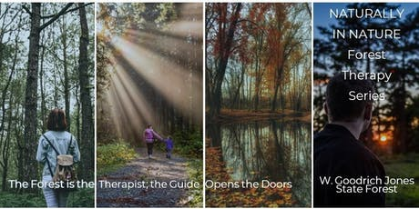 Naturally in Nature - Forest Therapy (Kids with Caregivers) tickets