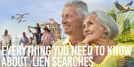 LIEN SEARCHES tickets