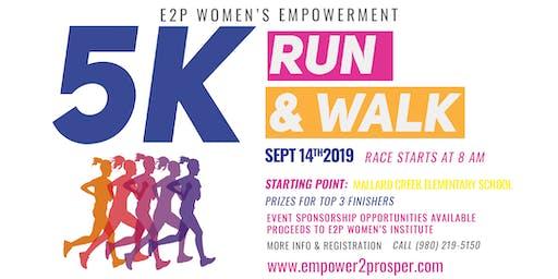E2P 5K Women's Empowerment Walkathon