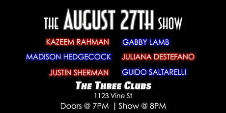 The August 27th Show tickets