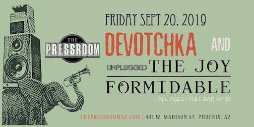 DeVotchKa w/ The Joy Formidable @ The Pressroom