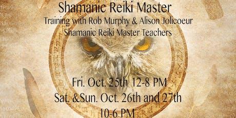 Shamanic Reiki Master Training tickets