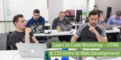 Learn to Code Workshop - HTML & CSS (Intro to Web Development)