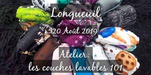 Atelier: Couches lavables Longueuil