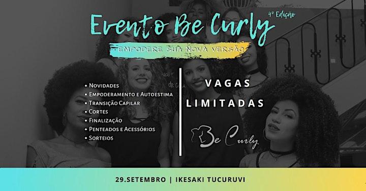 Imagem do evento Be Curly 4ª Edição