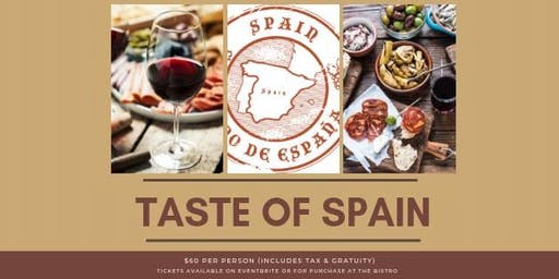 Wine Tasting Dinner at RELM - Taste of Spain