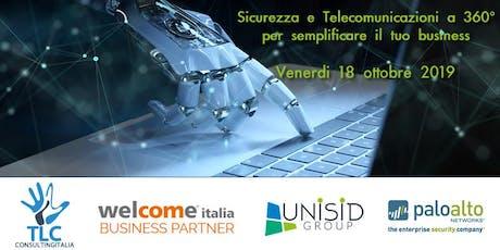 Sicurezza e Telecomunicazioni a 360° per semplificare il tuo business biglietti
