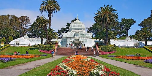 Sound Meditation at the Conservatory of Flowers (Last Round of the Year)