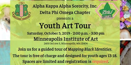 Youth Art Tour - Mapping Black Identities tickets
