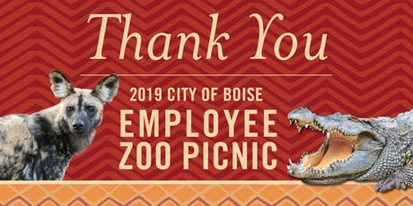 City of Boise Employee Zoo Picnic tickets