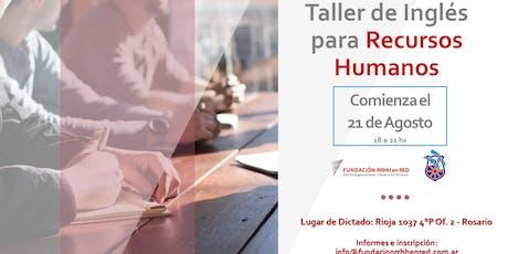 TALLER DE INGLES PARA RECURSOS HUMANOS entradas