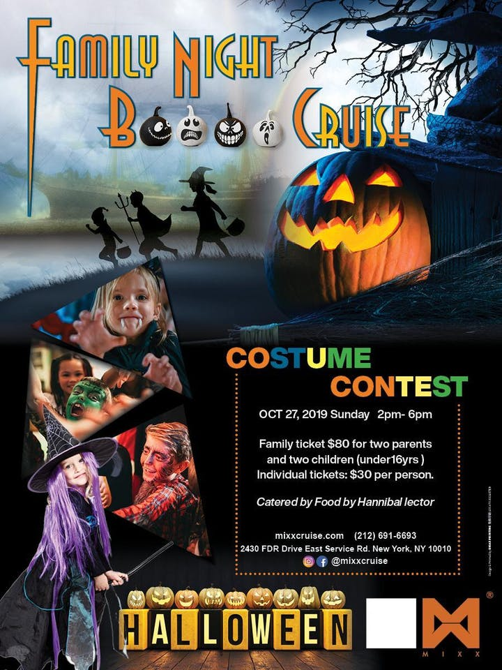 Halloween New York 2019.Sun 10 27 Mixxcruise Nyc Halloween Kids Boo Cruise Family Boat Event