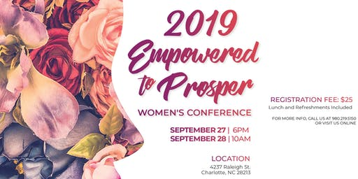 Empowered to Prosper Women's Conference 2019