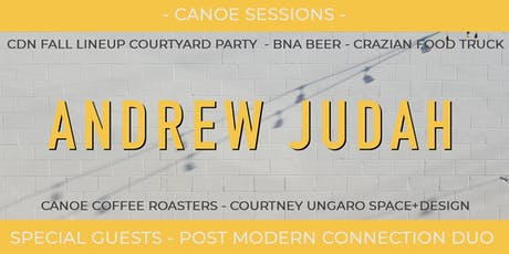 Canoe Sessions - Andrew Judah and PMC(duo) / CDN Parking Lot Party tickets
