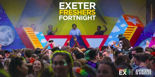 EXETER FRESHERS FORTNIGHT WRISTBAND '19