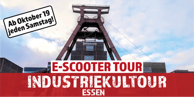 "E-Scooter Tour: ""Industriekultour"" Essen"