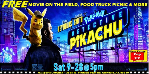 Az Sports Complex Free Movie on the Field, Food Truck Picnic & MORE! Sat 9/28