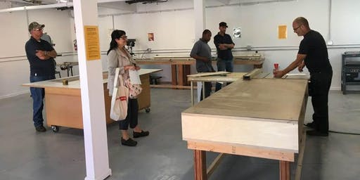 Woodshop Certification Class (for Bridge Coworking Members)