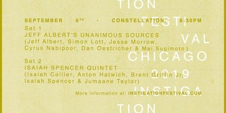 Isaiah Spencer Quintet // Jeff Albert's Unanimous Sources tickets