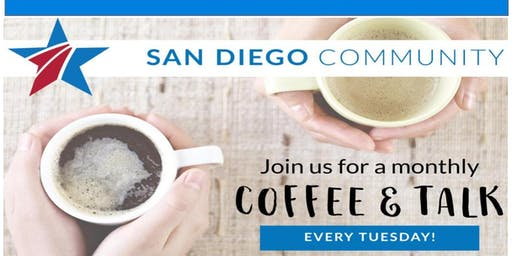 Tuesday Coffee Social & Career Chat for Military Spouses by BSF San Diego