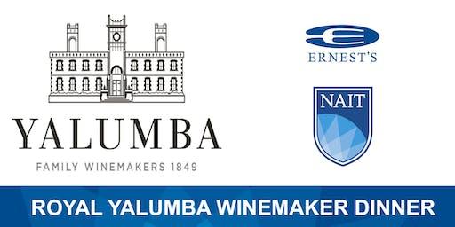 Ernest's Royal Yalumba Winemaker Dinner