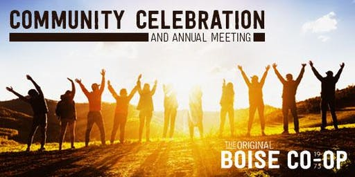 Community Celebration and Annual Meeting