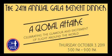 Flight Path Museum's 'A Global Affaire' Gala Dinner Served on the LAX Tarmac tickets