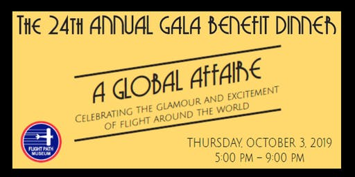 Flight Path Museum's 'A Global Affaire' Gala Dinner Served on the LAX Tarmac