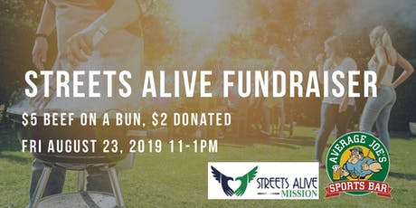 Streets Alive Mission - Beef On A Bun Fundraiser tickets