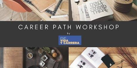 Taller 7: Career Path Workshop - 07 Oct 19 boletos