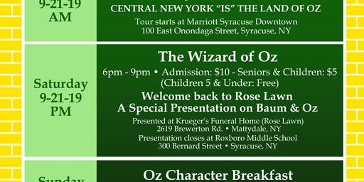 The Wizard of Oz:  Welcome Back to Rose Lawn