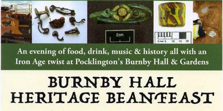 Burnby Hall Heritage Beanfeast tickets