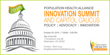 PHA Innovation Summit and Capitol Caucus 2019 tickets