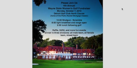 WSU 4th Annual Women's Golf Fundraiser Outing tickets
