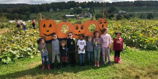Pumpkin Picking Hayride with Sun, Moon & Stars