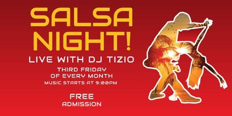 Salsa Night with DJ Tizio tickets