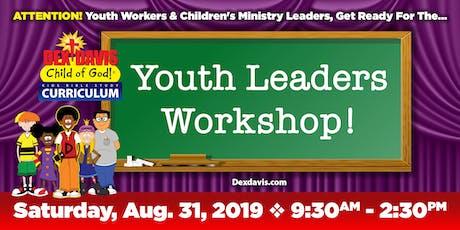 Dex Davis: Child of God Leaders Workshop tickets