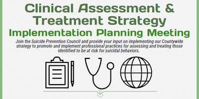 SPAP Clinical Assessment & Treatment Strategy Implementation Meeting