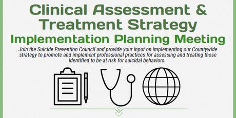 SPAP Clinical Assessment & Treatment Strategy Implementation Meeting tickets