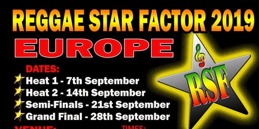 Reggae Star Factor Europe