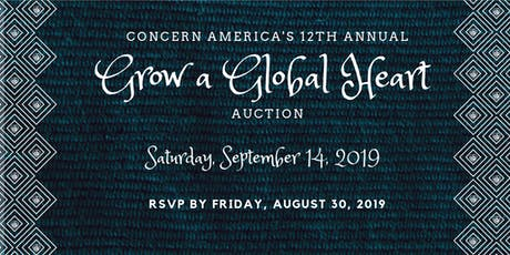 Grow a Global Heart Auction 2019 tickets