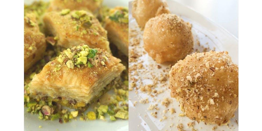 Greek Desserts: Baklava & Loukoumades