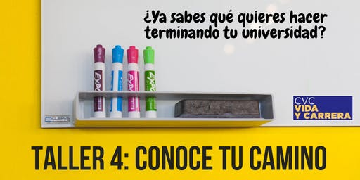 Taller 4: Conoce tu Camino - 23 Sep 19