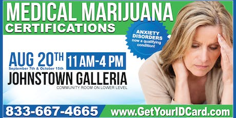 Medical Marijuana Certification Event Johnstown tickets